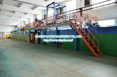 Dry-processed PU & PVC Synthetic Leather Making Machine